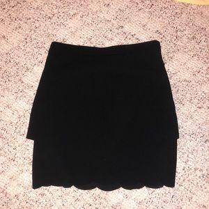 Scalloped Dress Skirt